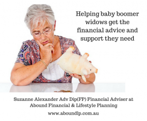Helping baby boomer widows get the financial advice and support they need - Article 1