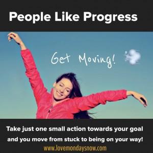 People like progress